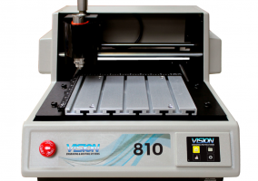 Vision VE 810 S5 Traffolyte Engraving Machine